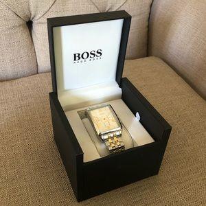 2 Tone Unisex Hugo Boss Watch